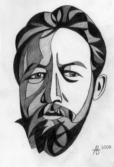 Anton Chekhov by volkov